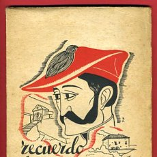 Militaria: LIBRO GUERRA CIVIL , RECUERDO A ZUMALACARREGUI , CARLISTA ,1939. Lote 27525720