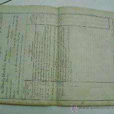 Militaria: 1918 MELILLA HOJA DE SERVICIOS DE AUXILIAR DEL CUERPO AUXILIAR DE ADMINISTRACION MILITAR. Lote 26255953