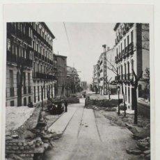 Militaria: MADRID, EN LA LÍNEA DE FUEGO,1937. GUERRA CIVIL. SELLO DE LA AGENCIA BLACK STAR, 23,5X16,4 CM.. Lote 26518063