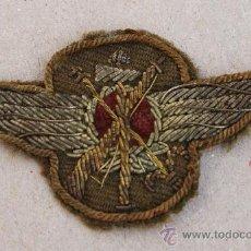 Militaria: EMBLEMA, ROKISKI DE PILOTO AVIACION LEGIONARIA ITALIANA GUERRA CIVIL (BORDADO). Lote 27054097