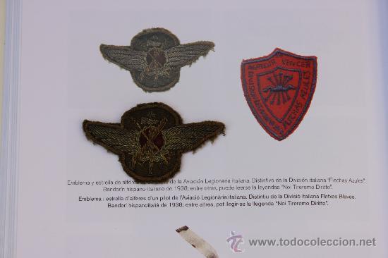 Militaria: EMBLEMA, ROKISKI DE PILOTO AVIACION LEGIONARIA ITALIANA GUERRA CIVIL (BORDADO) - Foto 4 - 27054097