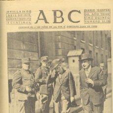 Militaria: ABC 14 DE ABRIL DE 1939. PARIS ELECCIONES.. Lote 29620799
