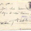 Militaria: SOBRE CON CENSURA MILITAR DE BURGOS. 1939. Lote 30548156