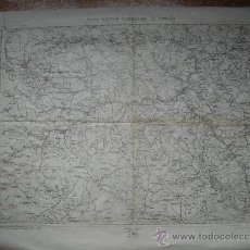 Militaria: GUERRA CIVIL EJERCITO REPUBLICANO MAPA MILITAR ITINERARIO SORIA GUADALAJARA TERUEL 1:200000. Lote 31179194