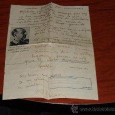 Militaria: CARTA CONLA IMAGEN DE FRANCO DEL AÑO 39. Lote 31862133