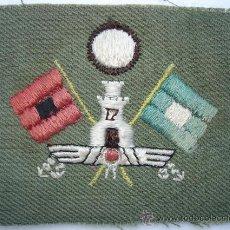 Militaria: PARCHE ORIGINAL GUERRA CIVIL. TRANSMISIONES REPUBLICANA. REPUBLICA REPUBLICANO. Lote 33417469