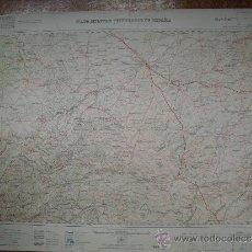 Militaria: 1936 HOJA 66 DEL MAPA MILITAR ITINERARIO INSTITUTO GEOGRAFICO. Lote 34040445