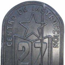 Militaria: CENTRO INSTRUCCION 27 DIVISION REPUBLICANA.. Lote 34782062