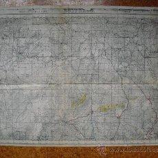 Militaria: GUERRA CIVIL MAPA DE BUITRAGO EJERCITO NACIONAL. Lote 35371236