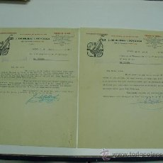 Militaria: 1937 CORRESPONDENCIA COMERCIAL SOBRE FABRICACION ABASTECIMIENTOS. Lote 36258301