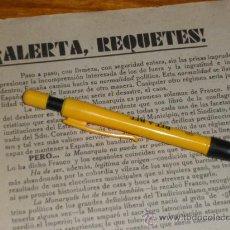 Militaria: ALERTA REQUETES, LOS VETERANOS CARLISTAS. GUERRA CIVIL.. Lote 36625991