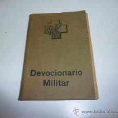 Militaria: ANTIGUO DEVOCIONARIO MILITAR DE 1938, GUERRA CIVIL. Lote 36857333