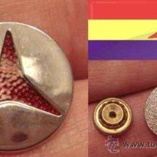 Militaria: MEDALLA DE GORRA VOLUNTARIOS DE LAS BRIGADAS INTERNACIONALES - JUNTA DEFENSA MADRID - GUERRA CIVIL . Lote 37031648