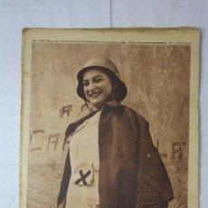 Militaria: CRONICA AÑO VIII NUMERO 359 - SEPTIEMBRE 1936 - PORTADA ENFERMERA REPUBLICANA GUERRA CIVIL. Lote 37645604