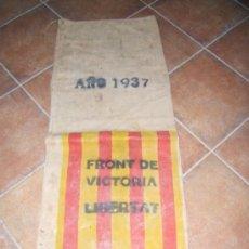 Militaria: SACO ABASTECIMIENTO REPUBLICA GUERRA CIVIL. Lote 173035565