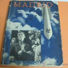Militaria: MADRID LIBRO DE FOTOGRAFIAS DE LA GUERRA CIVIL - 1937 - SEIX I BARRAL - REPUBLICA ESPAÑOLA - R. CAPA. Lote 39111598