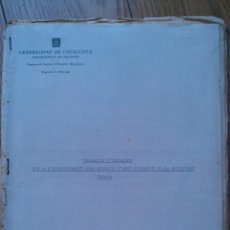 Militaria: 1937 GENERALITAT DE CATALUNYA 27 MODELOS DE IMPRESOS GUERRA CIVIL. Lote 40755781