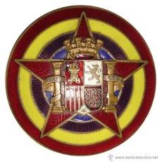 Militaria - INSIGNIA ESTADO MAYOR DEL EJERCITO POPULAR. GUERRA CIVIL. 4,5 CM - 41075099