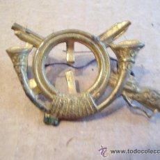 Militaria: EMBLEMA DE INFANTERIA DE ALFONSO XIII REPUBLICANIZADO -. Lote 41347638
