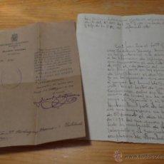 Militaria: DOCUMENTO CONCESION DE 4 MEDALLA DE GUERRA CIVIL Y LIBERACION DE MALAGA 1937. GRANADA. Lote 42187310