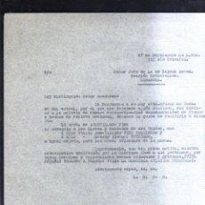 Militaria: SEPTIEMBRE 1938. JEFE 35 UNIDAD AEREA. SECCION ESTRATEGICA. ZARAGOZA. GUERRA CIVIL. LEER. Lote 44037821
