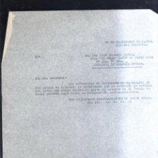 Militaria: 1938. CABO DE RGMTO INFANTERIA CADIZ 33. 4ª CIA. 7º BON. ESTAFETA 93-SUR. GUERRA CIVIL. LEER. Lote 44037919