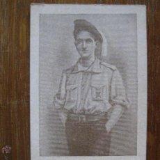 Militaria: ESQUELA FUNERARIA - ANTONIO MOLLE LAZO 1915-1936. Lote 44185060