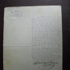 Militaria: 1937 GUERRA CIVIL INFORME GUARDIA CIVIL DE BETANZOS SOBRE PROPIETARIOS DE VEHICULOS. Lote 44222075