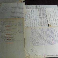 Militaria: 1937 GUERRA CIVIL RESULTADO DE EXPEDIENTE ORDENANDO A LA G. CIVIL QUE PARE LOS OMNIBUS QUE CIRCULEN. Lote 44223581