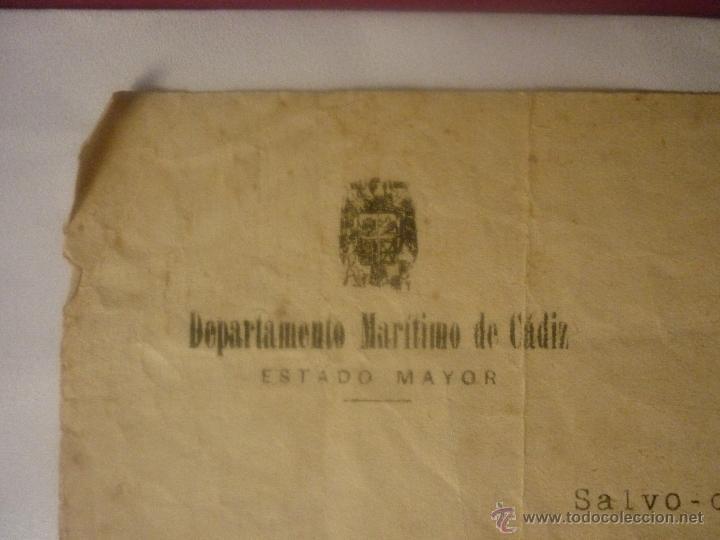 Militaria: SALVO CONDUCTO FECHA 10 JULIO 1939 DE MADRID A CÁDIZ Y REGRESO. EL DE LA FOTO - Foto 2 - 44429227