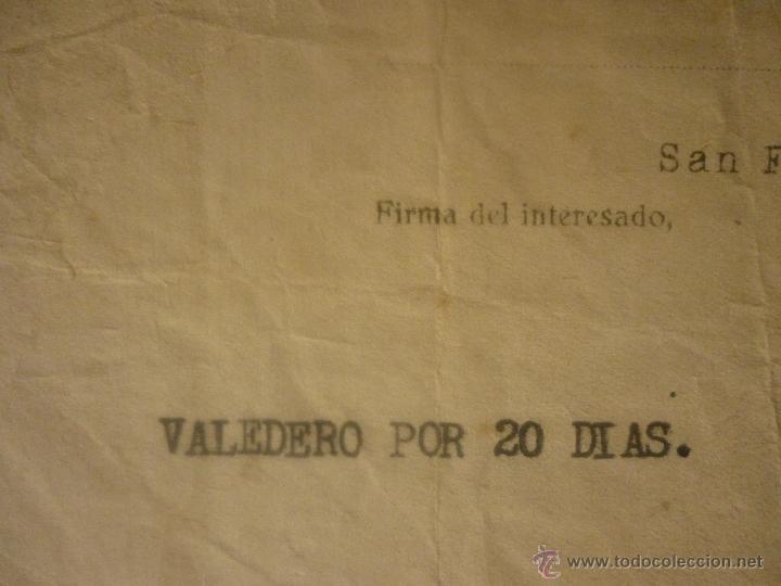 Militaria: SALVO CONDUCTO FECHA 10 JULIO 1939 DE MADRID A CÁDIZ Y REGRESO. EL DE LA FOTO - Foto 6 - 44429227