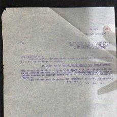 Militaria: GUERRA CIVIL. COMANDANTE 4º BON. RGMTO. PAVIA Nº 7. PEÑARROYA - PUEBLONUEVO. 12/1938. LEER. Lote 44753478