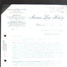 Militaria: CARTA COMERCIAL. MARIANO LORA HIDALGO. SALAMANCA. 1937. GUERRA CIVIL. SELLO VIVA ESPAÑA. Lote 44755373