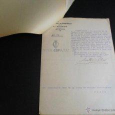 Militaria: 1937 GUERRA CIVIL EXPEDIENTE POR SUSTRACCIÓN DE DOS CAPOTES POR CONDUCTORES DE CONVOY 11 DOCUMENTOS. Lote 44773973