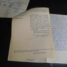 Militaria: 1937 GUERRA CIVIL EXPEDIENTE SOBRE PAGO DE FACTURA A TALLER MECANICO. Lote 44774281