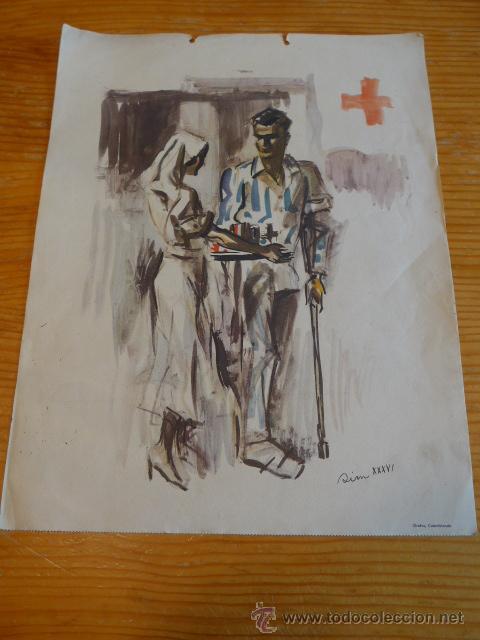 CARTEL ORIGINAL DE CNT DE LA GUERRA CIVIL. SIM 1936. (Militar - Guerra Civil Española)