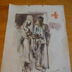 Militaria: CARTEL ORIGINAL DE CNT DE LA GUERRA CIVIL. SIM 1936.. Lote 45136500