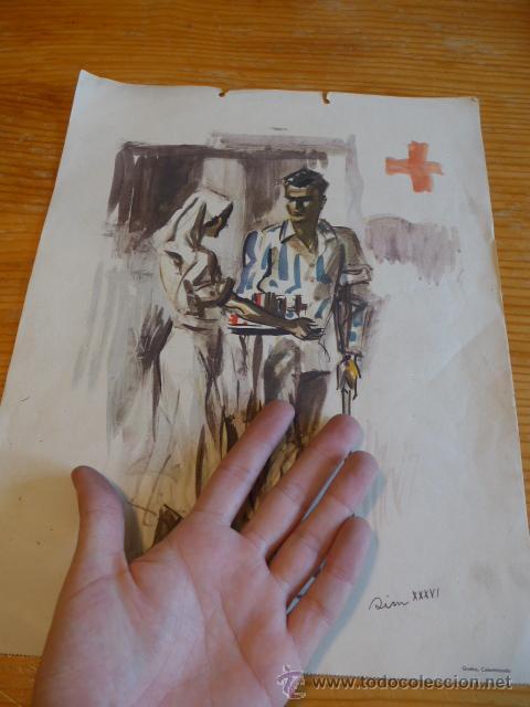 Militaria: Cartel original de CNT de la guerra civil. SIM 1936. - Foto 2 - 45136500