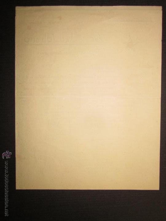 Militaria: DOCUMENTO - COMITE ANTIFEIXISTA TARRAGONA -FRONT ANTIFEIXISTA - CASA DEL PUEBLO - COMISSARIAT- 1936 - Foto 2 - 45147206