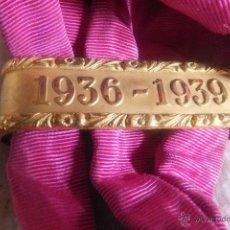 Militaria: BANDA MILITAR GUERRA CIVIL CON PASADOR 1935 - 1938. Lote 45663895