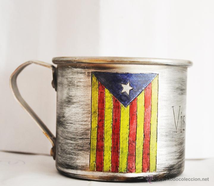 TAZA CATALANA . (Militar - Guerra Civil Española)