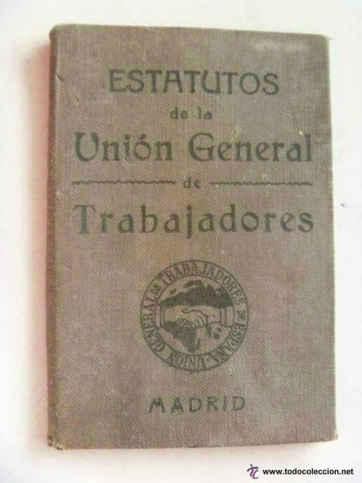 Militaria: GUERRA CIVIL : CARNET DE LA UGT . VALENCIA , AGOSTO 1936 .. - Foto 2 - 46046031