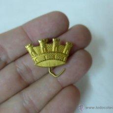 Militaria: ANTIGUA INSIGNIA CORONA REPUBLICANA, REPUBLICA Y GUERRA CIVIL. Lote 46075031