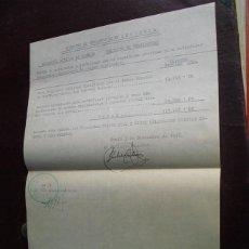 Militaria: 1936 EJ. OPERACIONES DE ASTURIAS COMPENSACION DE ANTICIPO DEL BANCO DE TINEO AL COMENZAR LA GUERRA. Lote 47041168