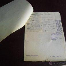 Militaria: 1936 EXPEDIENTE Y MULTAS A DOS CHOFERES CIVILES DEL SERVICIO DE REQUISAS DE LA CORUÑA. Lote 47041323