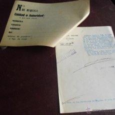 Militaria: 1937 INVENTARIO A INSTANCIAS DEL JUZGADO DE LA COOPERATIVA FILIAL DE FEDERACION TABAQUERA DE CORUÑA. Lote 47041411