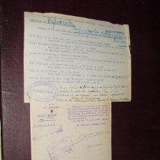 Militaria: 1936 RELACION DE LOCALES OCUPADOS EN LA CORUÑA CON EXPRESIÓN DE LOS ORGANISMOS QUE LOS OCUPAN. Lote 47041690