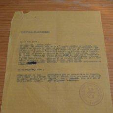 Militaria: CONCESION DE MEDALLA DE LA CAMPAÑA Y CRUZ ROJA MERITO MILITAR, GUERRA CIVIL, VILAFRANCA DEL PENEDES. Lote 47554795