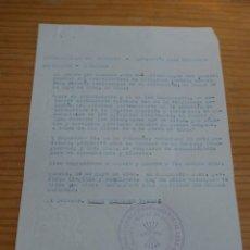 Militaria: CONCESION DE MEDALLA DE LA CAMPAÑA Y CRUZ ROJA MERITO MILITAR, GUERRA CIVIL, VILAFRANCA DEL PENEDES. Lote 47555201