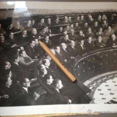 Militaria: FOTOGRAFÍA GUERRA CIVIL. CORTES GOBIERNO DE LA REPUBLICA D ESPAÑA EN AYTO DE VALENCIA DICIEMBRE 1936. Lote 49274763